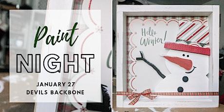 Winter Paint Night tickets