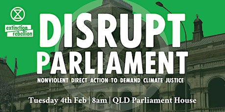 Disrupt the Opening of Parliament tickets