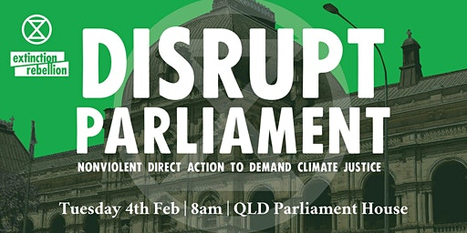 Disrupt the Opening of Parliament
