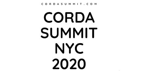 Corda Summit NYC tickets