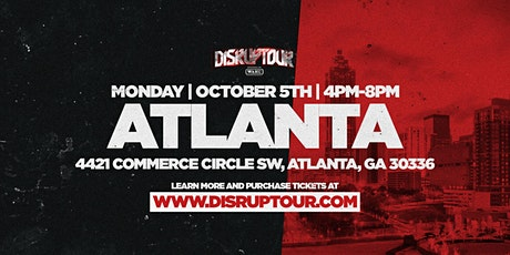 DISRUPTOUR ATLANTA tickets