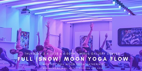 February Full (Snow) Moon Yoga Flow (All Levels) tickets