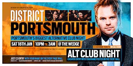 DISTRICT Portsmouth // Portsmouth's Biggest Alternative Club Night tickets