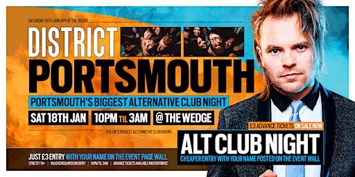 DISTRICT Portsmouth // Portsmouth's Biggest Alternative Club Night