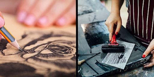 Adult Drawing and Printmaking Classes with Julie Andrews -  Term 1 2020
