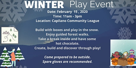 Winter Play Event tickets