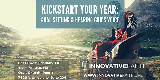 Kickstart Your Year: Goal Setting and Hearing God's Voice