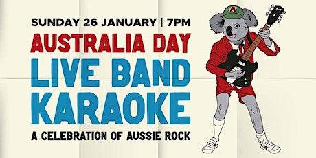 Australia Day Live Band Karaoke - Bushfire Fundraiser tickets