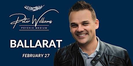 Ballarat - Peter Williams Medium Searching Spirit Tour tickets