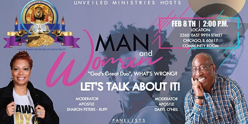 """Man and Woman """"God's Great DUO"""", WHAT'S WRONG?  Let's Talk About It!"""