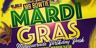 Bowties Mardi Gras Masquerade Birthday Bash
