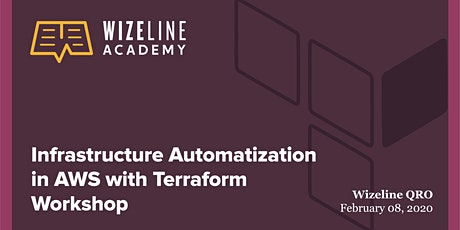 Infrastructure Automatization in AWS with Terraform Workshop @QRO billets