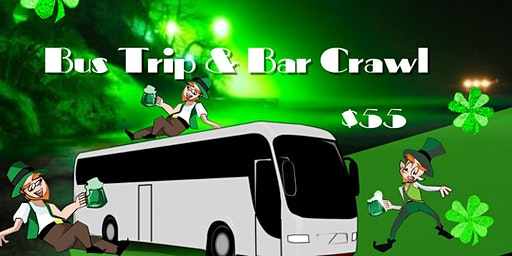 St. Patricks Day Bus PARTY & Bar CRAWL from Augusta