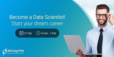 Become a Data Scientist Start Your Dream Career tickets