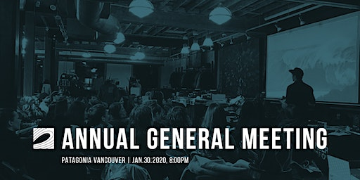 Surfrider Vancouver - Annual General Meeting with live music by Michael Averill