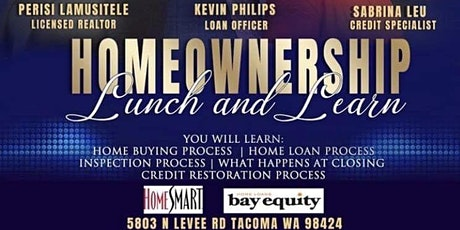 Lunch and Learn for Homeownership tickets
