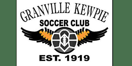 Granville Kewpie Soccer Club Centenary Dinner tickets