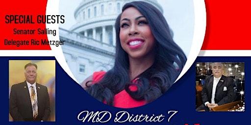 Fundraiser/Meet & Greet for District 7 Congressional Candidate Kim Klacik