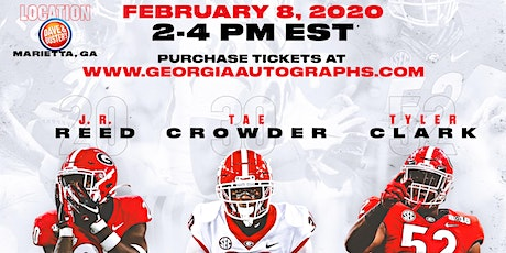 JR Reed, Tae Crowder, Tyler Clark Public Meet and Greet & Autograph Signing tickets