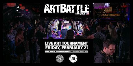 Art Battle Tacoma - February 21, 2020 tickets