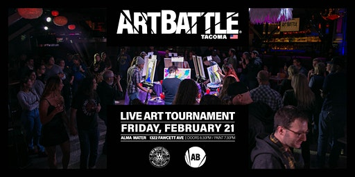 Art Battle Tacoma - February 21, 2020