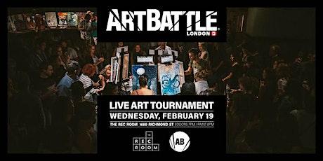 Art Battle London - February 19, 2020 tickets