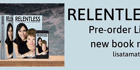 Relentless Book Launch, Shoe Clinic Store Wellington tickets