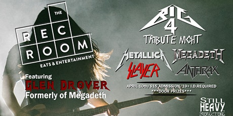Still Heavy Tribute Night (featuring Glen Drover): The Big 4 Edition tickets