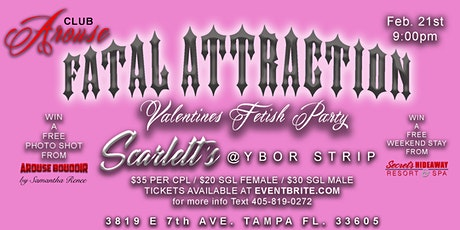 Club Arouse Fatal Attraction Fetish Party tickets