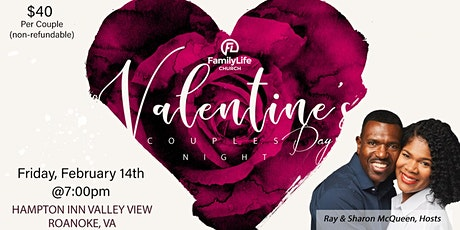 Valentine's Day Couple's Dinner tickets