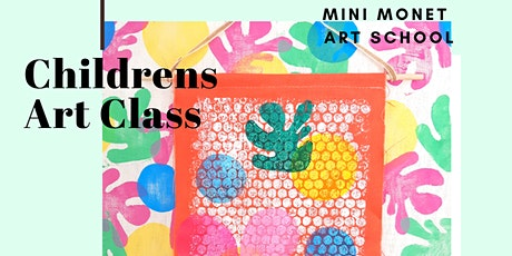 MINI MONET: Wall Hanging Art Class tickets