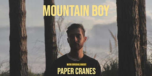 Mountain Boy with Special Guest Paper Cranes