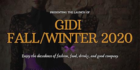 Gidi Fall/Winter 2020 Launch Fashion Show tickets