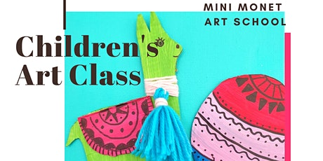 MINI MONET: Stories + Art Making tickets