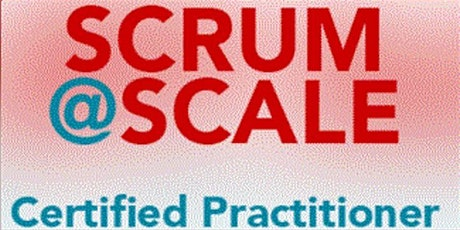 Certified Scrum@Scale Practitioner - Virtual tickets
