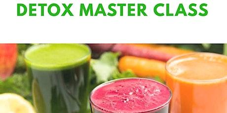 Detox Master Class (Webinar) tickets