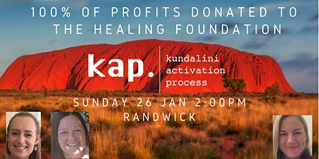 Long weekend KAP Randwick - fundraiser event for THE HEALING FOUNDATION tickets