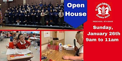 Open House on Sunday, January 26, 2020