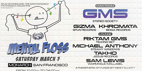Mental Floss with Special guest G.M.S. tickets