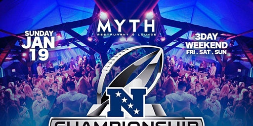 MYTH NIGHTCLUB | INDUSTRY SUNDAY - MLK 3DAY WEEKEND & NFC CHAMPIONSHIP AFTER PARTY!!
