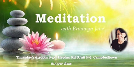 Meditation & Relaxation Classes in Campbelltown tickets