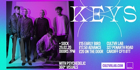 Keys + Sock / Immersive Concert  tickets