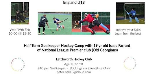 Goalkeeper Hockey Camp -Isaac Farrant - England U18-National League Player