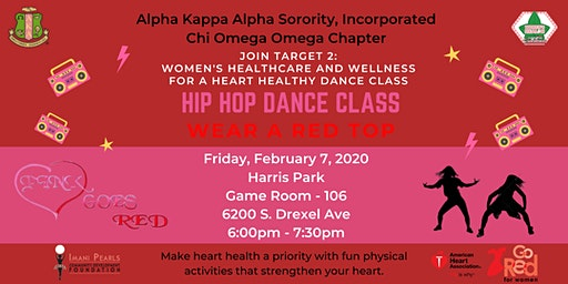 Pink Goes Red: Hip Hop Dance Class