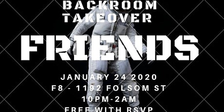 Friends Backroom Takeover ft. Tommy y Moy (Hip hop) tickets