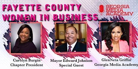 Fayette County Women in Business Breakfast Mixer!  tickets