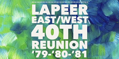 Lapeer East/West 40th High School Reunion tickets