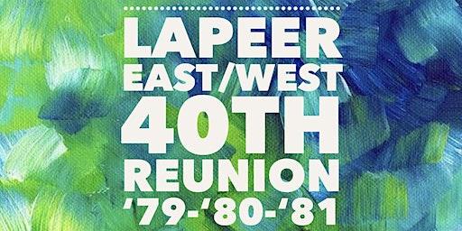 Lapeer East/West 40th High School Reunion