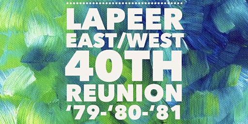 Lapeer East/West 40th Class Reunion