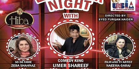 Laughter Night with Comedy King Umer Sharif tickets